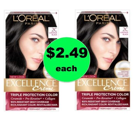 Wash Away The Gray With $249 L'oreal Excellence Hair