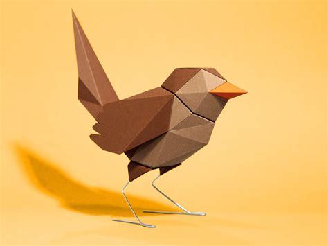 vogel basteln aus papier zaunk 246 nig aus papier handmade kultur