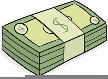 Stack Cartoon Dollar Euro Bank Note Clipart