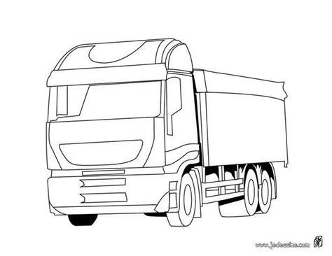 coloriages coloriage dun camion transporteur fr