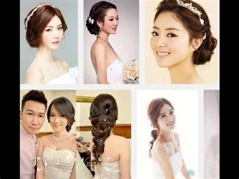 korean wedding hair style  youtube