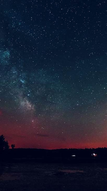 Night Sky Starry Romantic Star Plus Iphone