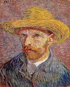 Vincent Van Gogh: Self Portraits: Portrait with Straw Hat ...