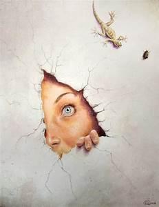 Image Trompe L Oeil : trompe l 39 oeil by akeiron on deviantart ~ Melissatoandfro.com Idées de Décoration