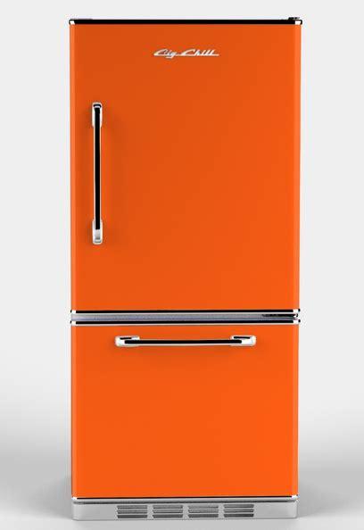 retro appliances retro fridge orange kitchen tuscan