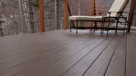 azek 174 decking for a deck project on a solid footing