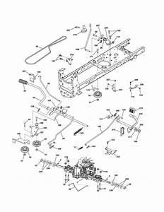 Husqvarna Tractor Engine Diagram