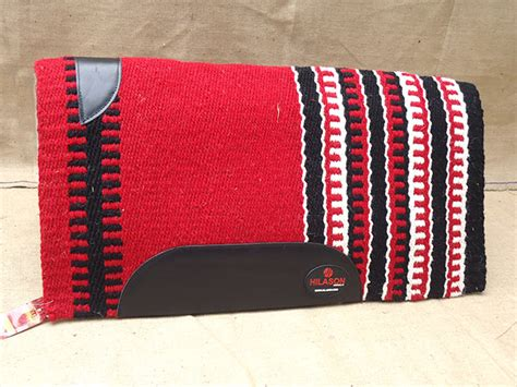 Red Black White Hilason Western New Zealand Wool Saddle Blanket Horse Rodeo Pattern For Weighted Lap Blanket How To Make A On Rectangular Loom Oversized Cotton Beach Using Long Horse With Velcro Belly Band Explain Blankets And Copper Shields Waffle Baby Bunting Heavy Sleeping