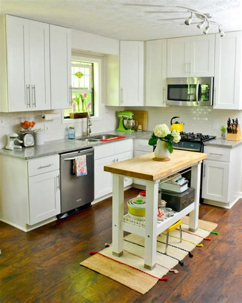 yellow cabinets kitchen ways to save money to add or update a kitchen island or 1208