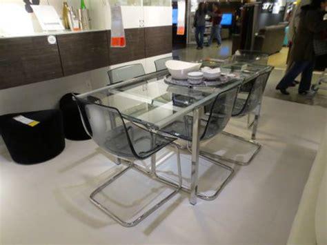 ikea glivarp expandable glass dining table decorate