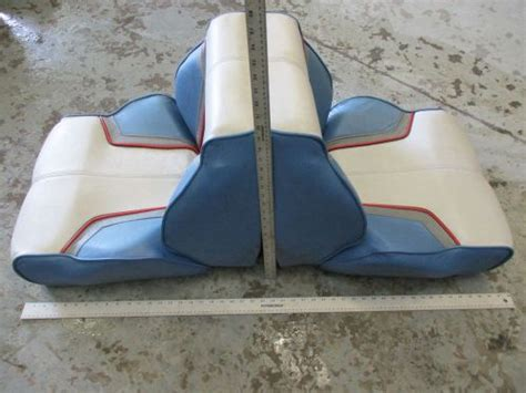 Bayliner Back To Back Boat Seats For Sale by Purchase 1988 Bayliner Capri Blue Grey White Red Back To