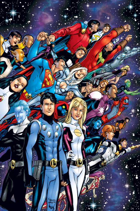 Legion Of Superheroes (postzero Hour)  Dc Database