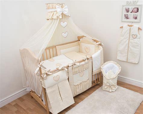 16 pcs baby bedding set nappy bag cot tidy wrap curtains