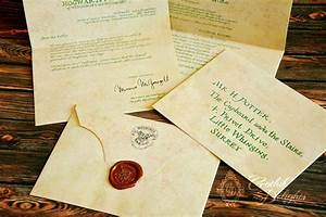 Lettera d'ammissione a Hogwarts di Harry Potter o