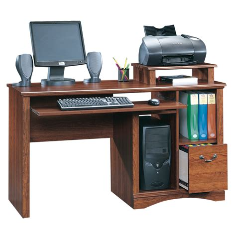 computer desk shop sauder camden county country computer desk at lowes com