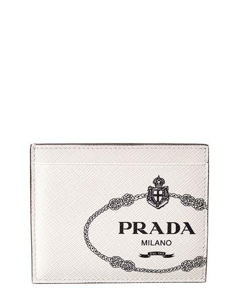 35 results for prada mens card holder. Prada Saffiano Leather Card Holder Men's White   eBay