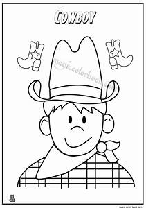 Cowboy Coloring Pages 08 - Cowboy Coloring Pages Woody ...
