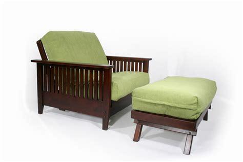 Denali Twin Chair & Ottoman Wall Hugger™ Futon Frame