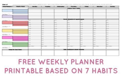 weekly planner printable  menu plan  daily