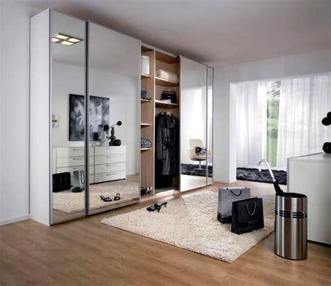 build  wardrobe  mirror illusion  infinite space interior design ideas ofdesign