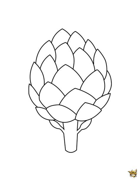 comment cuisiner un artichaut artichaut est un coloriage à imprimer d 39 aliments