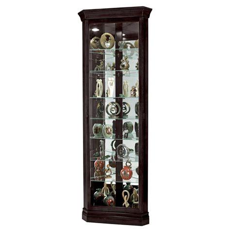 Corner Curio Cabinet For Elegant Home Office