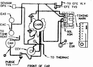 Need A Vaccume Line Diagram For A Rochester Carb 17056208