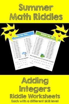 adding integers images math classroom high