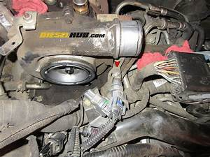 6 6l Duramax Turbocharger Removal Procedures  Step
