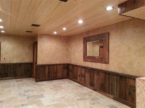 crackled finish  barn wood wainscoting wood