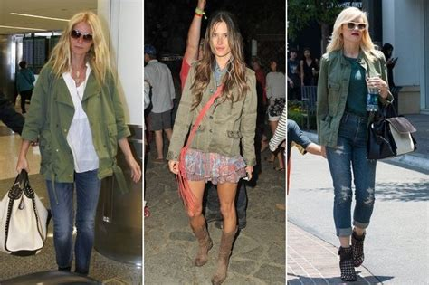 ten ways  wear  military jacket stylebistro