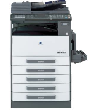 Is a japanese multinational technology company headquartered in marunouchi, chiyoda, tokyo, with offices in 49 countries worldwide. Konica Minolta Bizhub 181 Driver Free Download