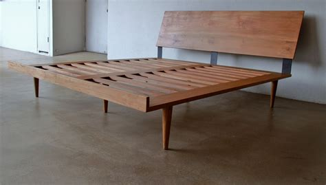 california king platform bed with headboard furniture mid century king size bed frame with headboard