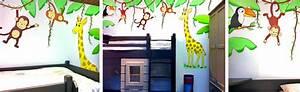 Wandgestaltung Kinderzimmer Mädchen : kinderzimmer wandgestaltung dschungelbuch ~ Sanjose-hotels-ca.com Haus und Dekorationen