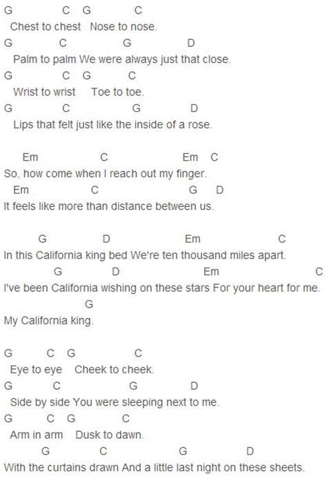 california king bed chords rihanna california king bed chords rihanna