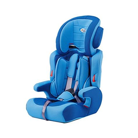 mcc blue  convertible baby child car safety booster