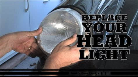 How To Replace Headlight On Porsche 964