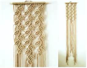 Home Interior Wall Hangings Macrame Wall Hanging Sprigs 1 Handmade Macrame Home Decor