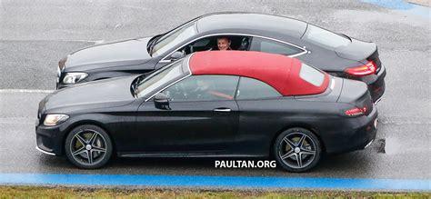 SPIED: Mercedes-Benz C-Class Cabriolet undisguised Image ...