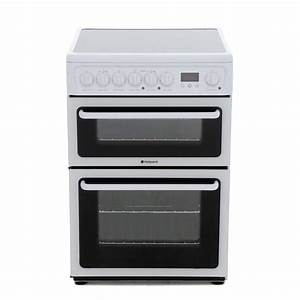 Buy Hotpoint Hae60ps Ceramic Electric Cooker With Double