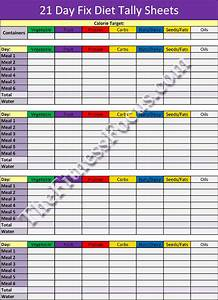 21 day fix workout schedule portion control diet sheets With portion control template