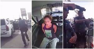 Handcuffed woman steals police car and leads cops on ...
