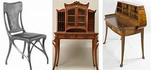Art Nouveau Mobilier : les volutions du design mobilier ~ Melissatoandfro.com Idées de Décoration
