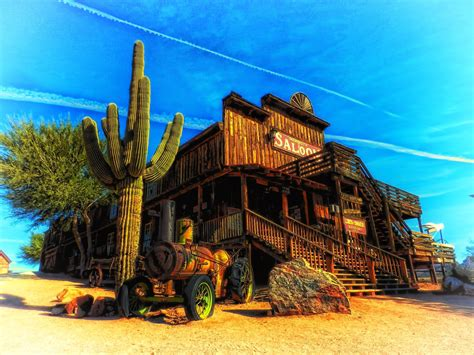 western cactus arizona saloon desert landscape wallpapers cowboy desktop american hdr wall hd wood modern backgrounds scene frame decor living