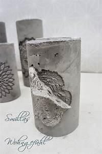 Basteln Mit Zement : diy concrete candle holder kerzenst nder aus zement beton pinterest concrete candle ~ Frokenaadalensverden.com Haus und Dekorationen