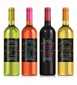 retirement gifts custom wine label personalized wine With custom photo wine bottle labels