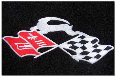 Cross Flag Impala Cloisonne Emblems
