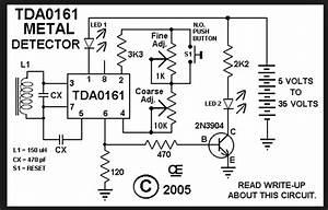 Tda0161 Metal Detector