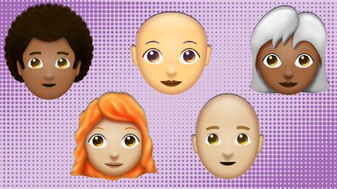 redhead emojis  arrive  june  unicode