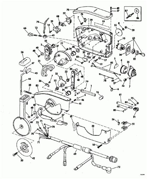 20 Hp Johnson Outboard Diagram by Johnson Outboard Motor Parts Diagram Automotive Parts